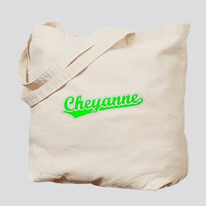 Retro Cheyanne (Green) Tote Bag