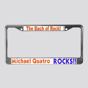 Quatro Rocks License Plate Frame