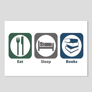 Eat Sleep Books Postcards (Package of 8)