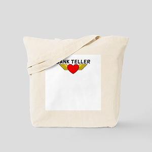 Bank Teller Tote Bag