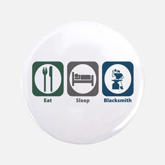 "Eat Sleep Blacksmith 3.5"" Button (100 pack)"
