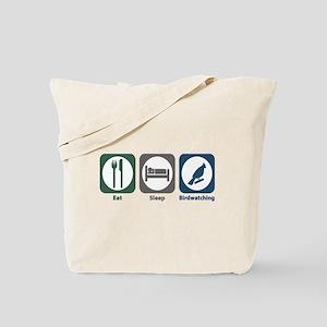 Eat Sleep Birdwatching Tote Bag