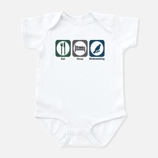 Eat Sleep Birdwatching Infant Bodysuit