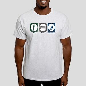 Eat Sleep Birdwatching Light T-Shirt
