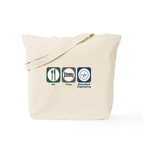 Eat Sleep Biomedical Engineering Tote Bag