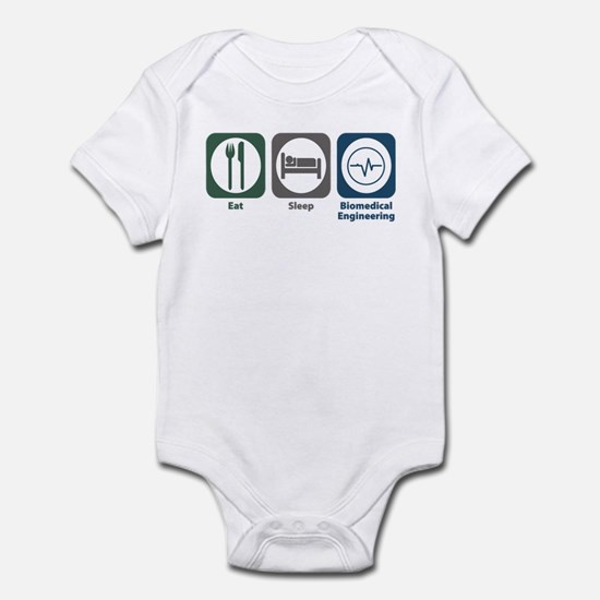 Eat Sleep Biomedical Engineering Infant Bodysuit