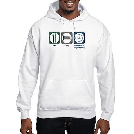 Eat Sleep Biomedical Engineering Hooded Sweatshirt