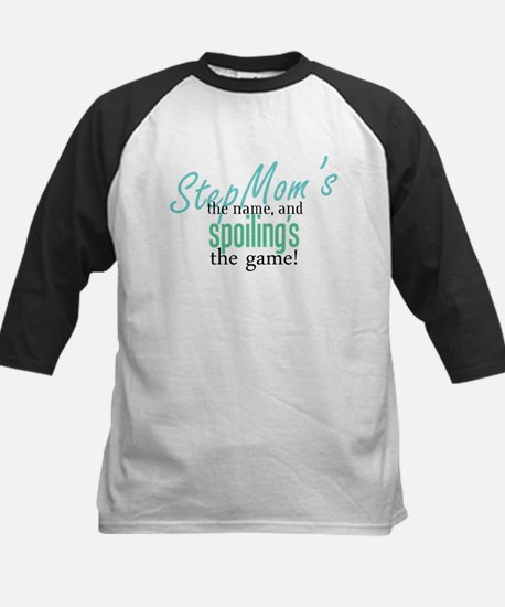 StepMom's the Name! Kids Baseball Jersey