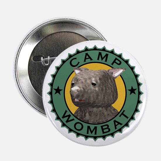 """Camp Wombat 2.25"""" Button"""