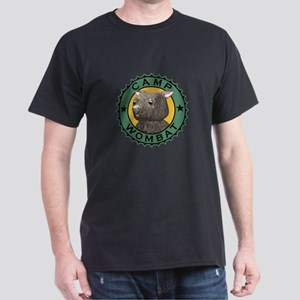 Camp Wombat Black T-Shirt