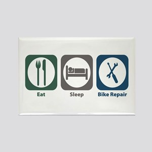 Eat Sleep Bike Repair Rectangle Magnet