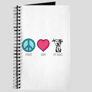 Peace Love & Pit Bulls Journal