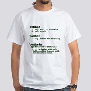 Deafen White T-Shirt