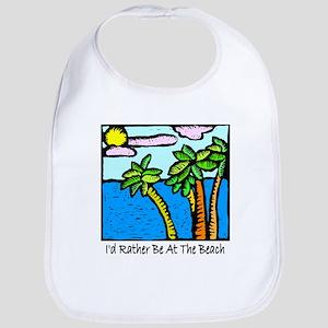 Tropical Beach Vacation T-shi Bib