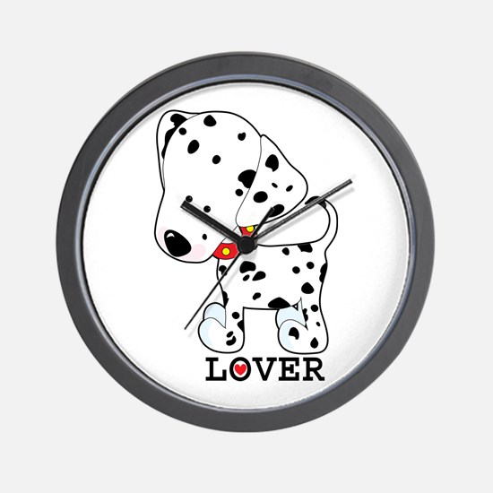 Dalmatian Lover Wall Clock
