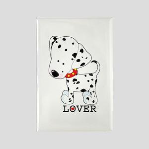 Dalmatian Lover Rectangle Magnet