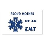 Proud Mother of an EMT Sticker (Rectangle 10 pk)