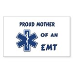Proud Mother of an EMT Sticker (Rectangle)
