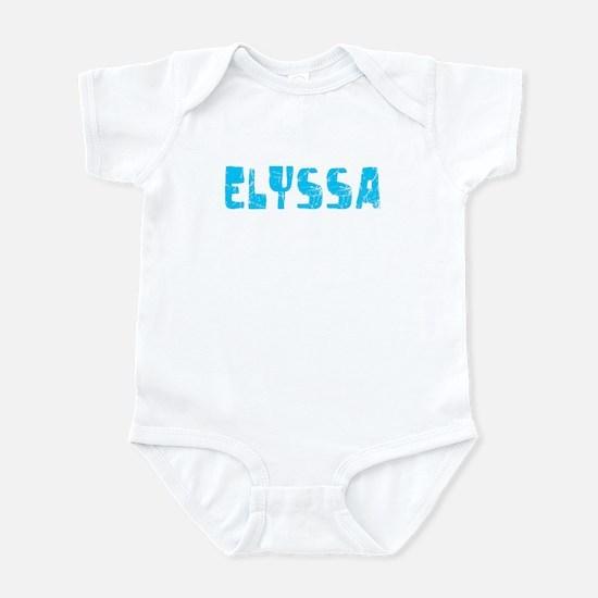 Elyssa Faded (Blue) Infant Bodysuit