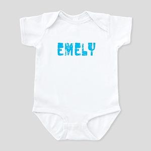 Emely Faded (Blue) Infant Bodysuit