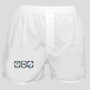 Eat Sleep Bass Boxer Shorts