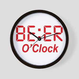 BEER O' Clock Men Women Funny Gift Wall Clock
