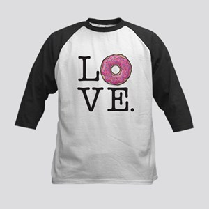Donut Love Funny Food Humor Baseball Jersey