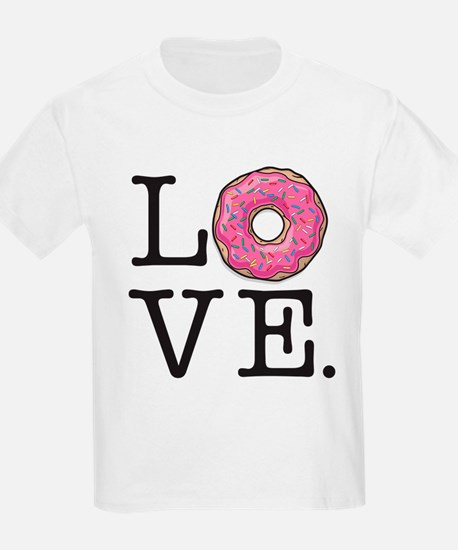 Donut Love Funny Food Humor T-Shirt