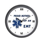 Proud Mother of an EMT Wall Clock