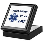 Proud Mother of an EMT Keepsake Box