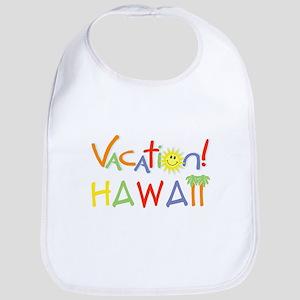Hawaii Vacation Bib