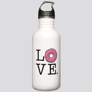 Donut Love Funny Food Stainless Water Bottle 1.0L