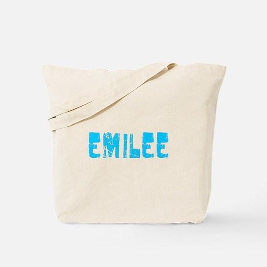 Emilee Faded (Blue) Tote Bag