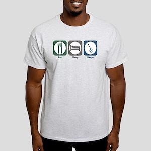Eat Sleep Banjo Light T-Shirt