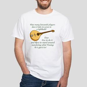 Zouk Lightbulb White T-Shirt