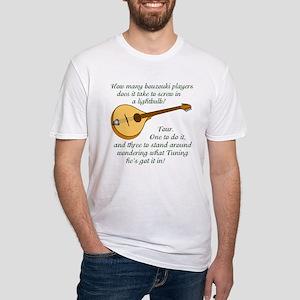 Zouk Lightbulb Fitted T-Shirt