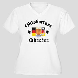 Oktoberfest Munchen Women's Plus Size V-Neck T-Shi