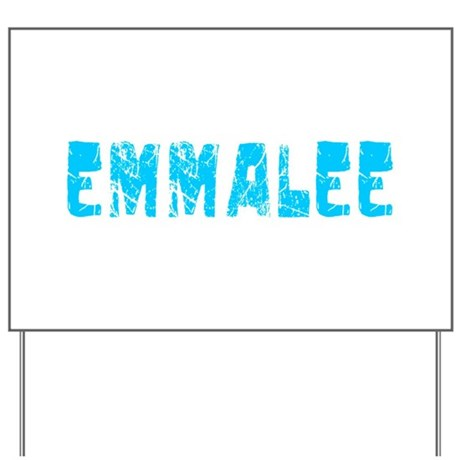Emmalee Faded (Blue) Yard Sign