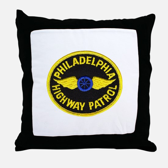 Philadelphia HP Throw Pillow