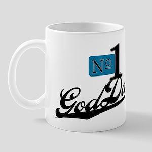 Number One GodDad Mug