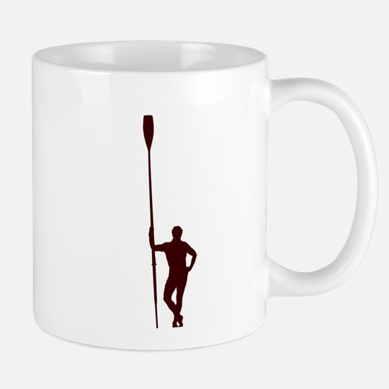 READY TO ROW RED Mug