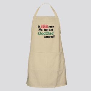 Just Ask GodDad Instead! BBQ Apron