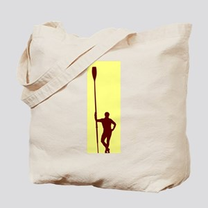 READY TO ROW YELLOW RED Tote Bag