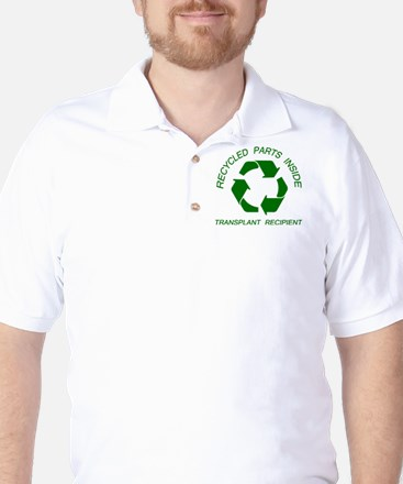 Recycled Parts Inside Golf Shirt