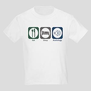 Eat Sleep Audiology Kids Light T-Shirt