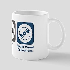 Eat Sleep Audio-Visual Collections Mug