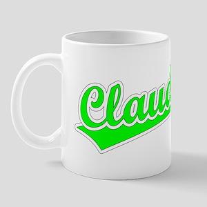 Retro Claudia (Green) Mug