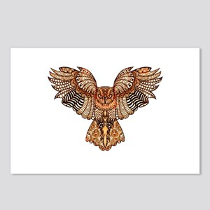 Owl in Flight Postcards (Package of 8)
