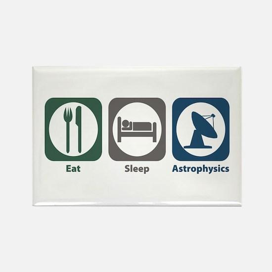 Eat Sleep Astrophysics Rectangle Magnet