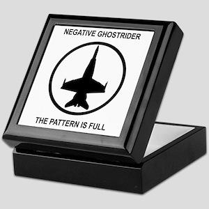 Negative Ghostrider Keepsake Box